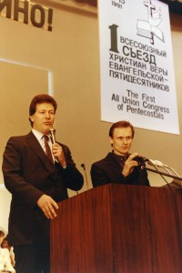 Privileged by Dr. Cerullo to teach in our Moscow School of Ministry, back when I was skinny!